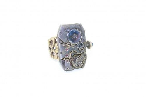 Etna Steampunk Ring