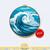 Ocean Wave | Digital Download | Round Cross Stitch Pattern |