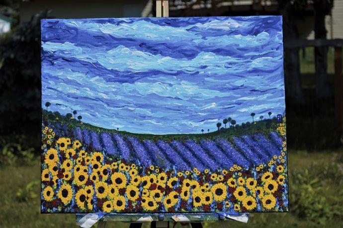 """Van Gogh Who?"" 16 x 20 Painting"
