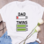 Dad of twins, dad of twin shirt, twin dad gift,twins gift,twins birthday, dad of