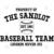 The Sandlot Baseball Team Digital Cut Files Svg, Dxf, Eps, Png, Cricut Vector,