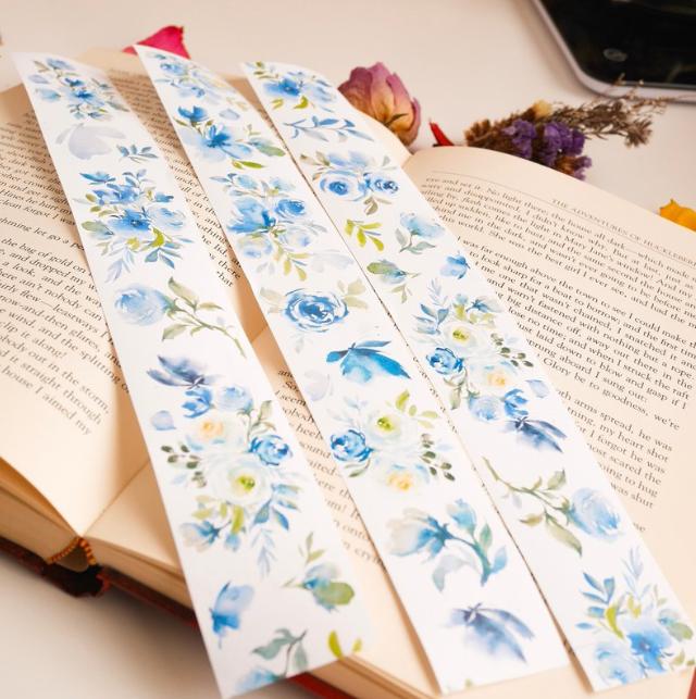 Meow Illustration washi tape - Tranquil Garden - 4 cm wide masking tape