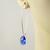 Majestic Royal Blue Swarovski Crystal Silver Earrings