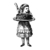 Alice with Cake - Vinyl Wall Decal - Various Sizes Available