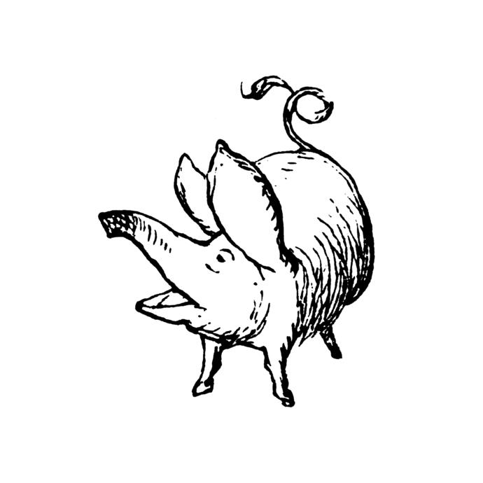 Anthropomorphic Animals 4 - Alice in Wonderland - Vinyl Wall Decal - Various