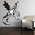 Jabberwocky - Alice in Wonderland - Vinyl Wall Decal - Various Sizes Available