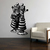 Red King and Red Queen - Alice in Wonderland - Vinyl Wall Decal - Various Sizes
