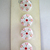 """11/16"""" White Glass Buttons Molded and Painted Vintage Clothing Button 7087-8"""