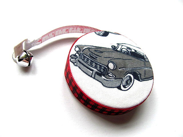 Tape Measure With Retro Cars Retractable Measuring Tape