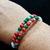 Merry Christmas Morse Code Bracelet