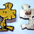 Vintage Woodstock Metal Sewing Button Charles Schulz, Peanuts Collectible