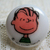 Linus Plastic Sewing Button, Snoopy and Peanuts Gang Cartoon / Comic