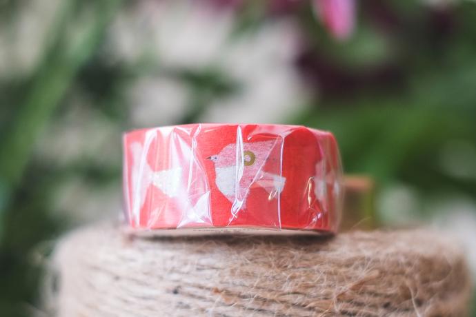 Subikiawa. washi tape - Shiroitori - 2 cm wide masking tape