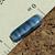 Blue-Gray Czech Rectangle Beads 8-1015