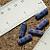 Pink Black Czech Rectangle Beads 8-1016