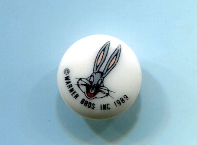 Looney Tunes Bugs Bunny Clothing Button Disney Collectible