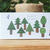 Nishi Shuku memo pad - Forest - 20 note sheets with 4 different designs