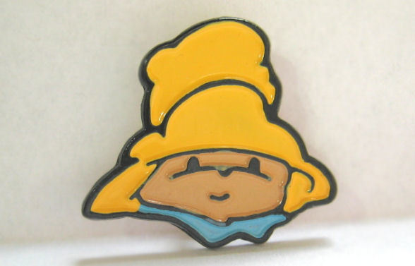 Paddington Bear Face Sewing Button Eden