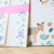 Aiko Fukawa letter set - Fox Letter - 12 letter sheets with 4 envelopes