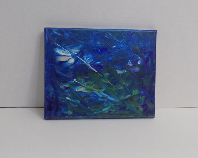 Original abstract art, acrylic on canvas painting, modern one of a kind artwork