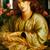 """La Donna Della Finestra - Dante Gabriel Rossetti- Art Print - 13"""" x 19"""" - Custom"""