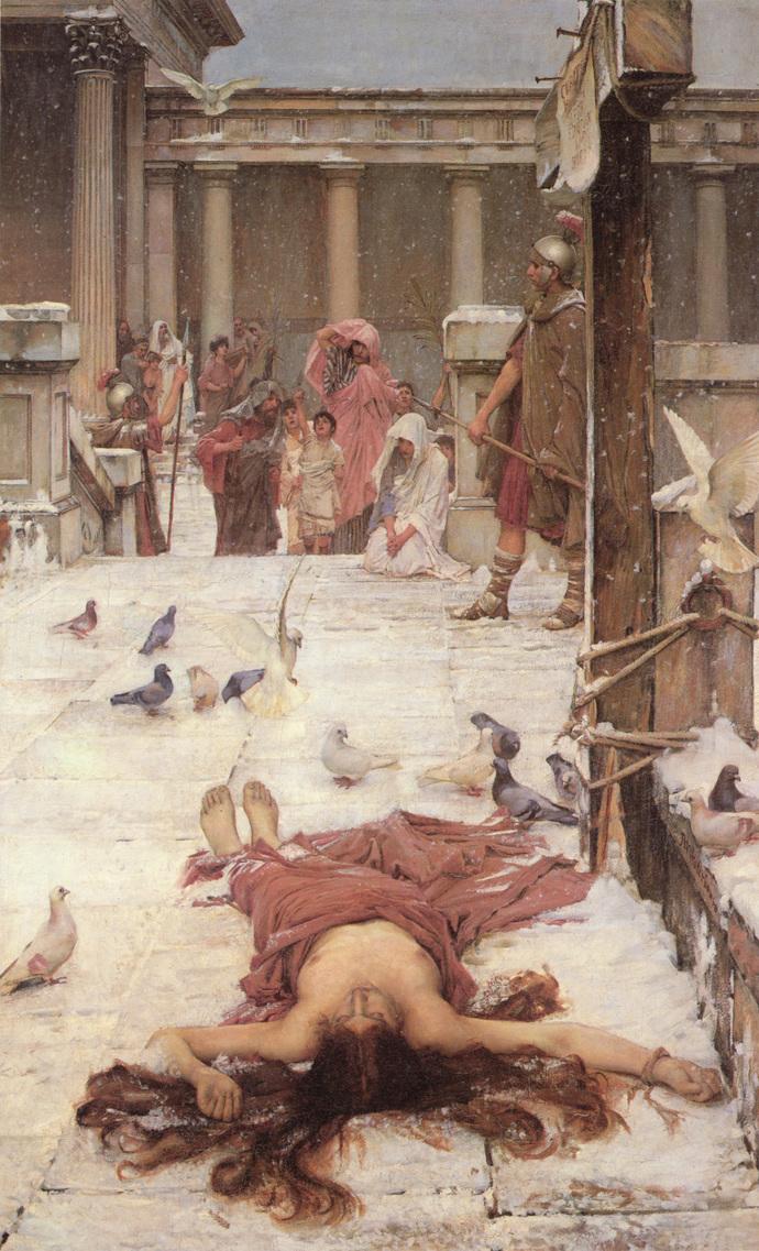 "St Eulalia - John William Waterhouse - Art Print - 13"" x 19"" - Custom Sizes"