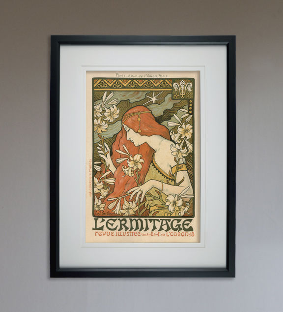 "L'Ermitage - Art Print - 13"" x 19"" - Custom Sizes Available"