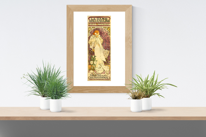 "The Lady of the Camellias - Art Print - 13"" x 19"" - Custom Sizes Available"