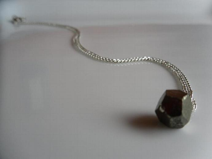 Pyrite Nugget-Necklace