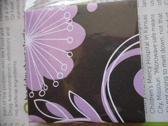 12 Little Envelopes with Mini Note Cards-Flowers