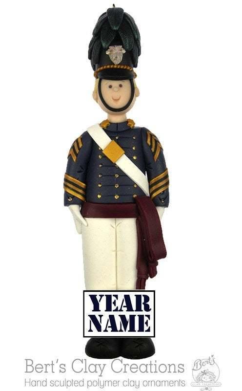 Citadel Cadet Ornament - West Point Firstie Ornament - West Point Ornaments -