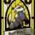 Stain-glass Hufflepuff House Crest
