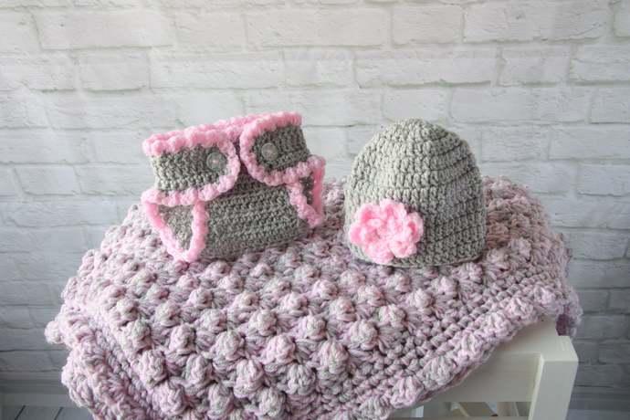 New baby gift, Baby Girl Gift Set, Granddaughter, Baby Shower, Christening gift,
