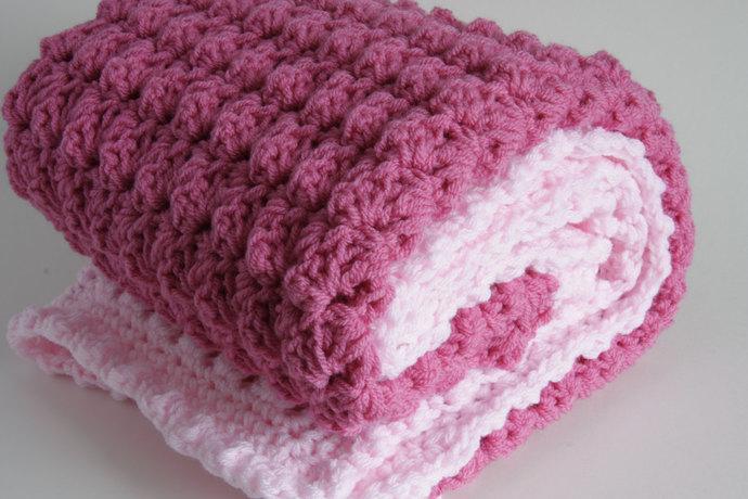 Granddaughter gift, crochet baby blanket, crochet blanket, goddaughter gift,