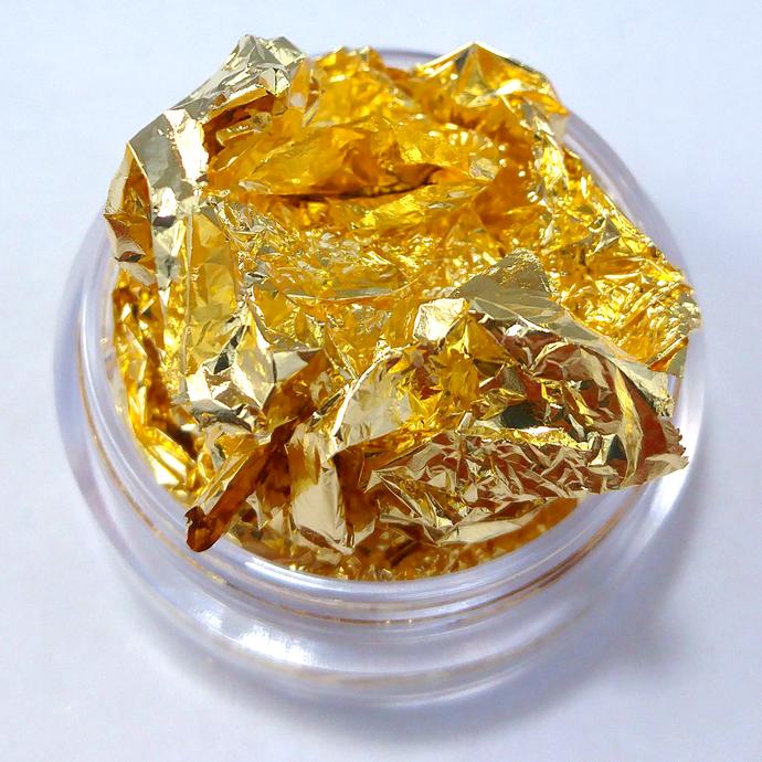 Gold Leaf Foil 5x5 Inch Sheets