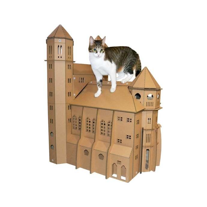 St. Paul's Church Cardboard Cat House