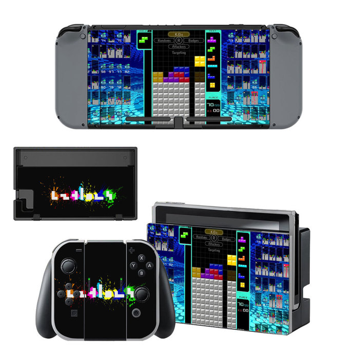 Tetris 99 Nintendo Switch Skin