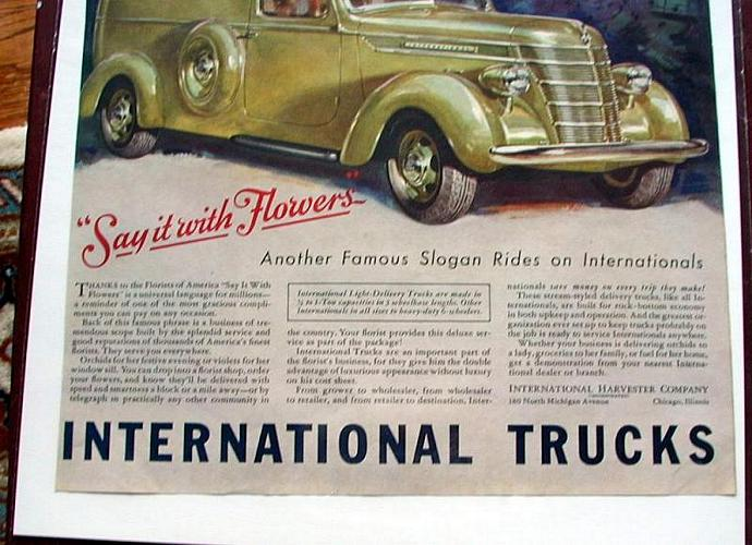 1939 Life Magazine Ad-International Harvester Trucks