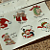 Small Christmas Ceramic Waterslide Decal -D9-16