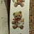 Bear with Angel Ceramic Waterslide Decal -D9-14