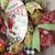 Spring Summer Deco Mesh Apple Wreath