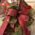 Candy Cane Wreath Door Hanger