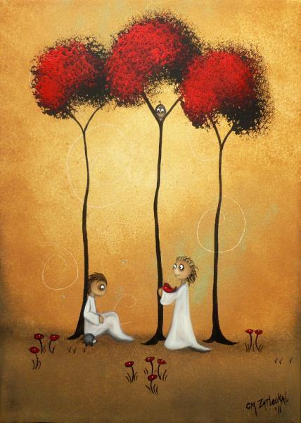 Whimsical Creeper Art Print -- This Fragile Heart