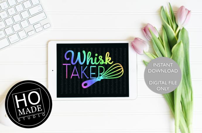 Whisk Taker SVG