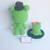 Felton in Frog Costume- Crochet Amigurumi Pattern PDF