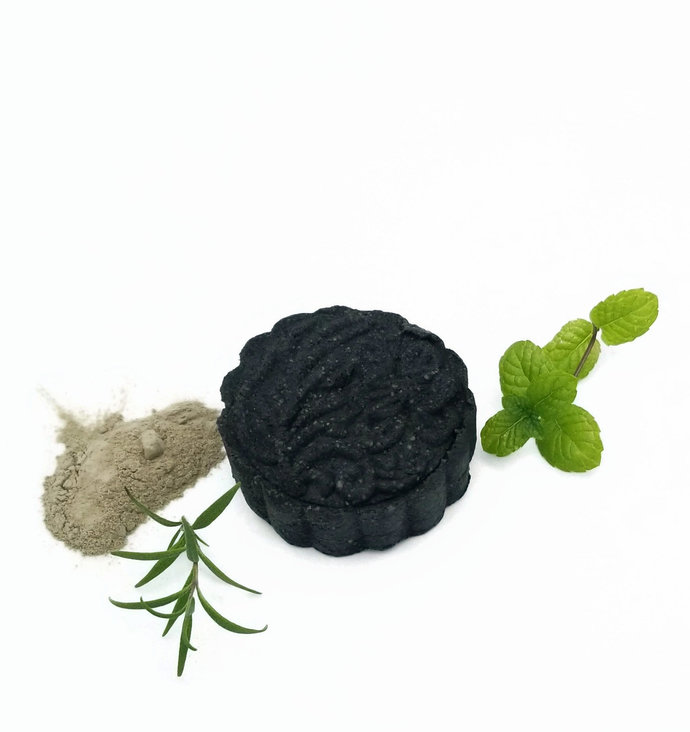 Acne Face Cleanser | Organic Moroccan Rhassoul Clay and Charcoal | pH Balanced |