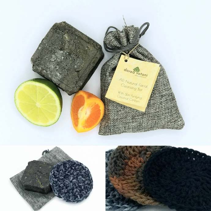 Face Cleanser | Charcoal | All Natural | Sulfate and Soap Free | Vegan | with