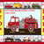 Fire Engine Truck Cross Stitch Pattern***LOOK*** INSTANT***DOWNLOAD***