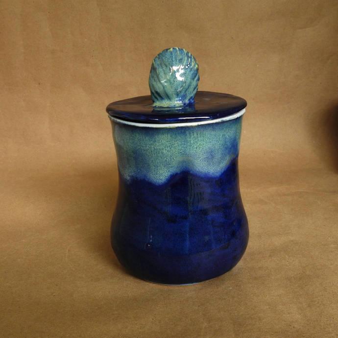 Sugar Bowl, Jam Jar, Condiment Jar, Q-Tip Jar, Cotton Balls or Makeup Jar,  Hair