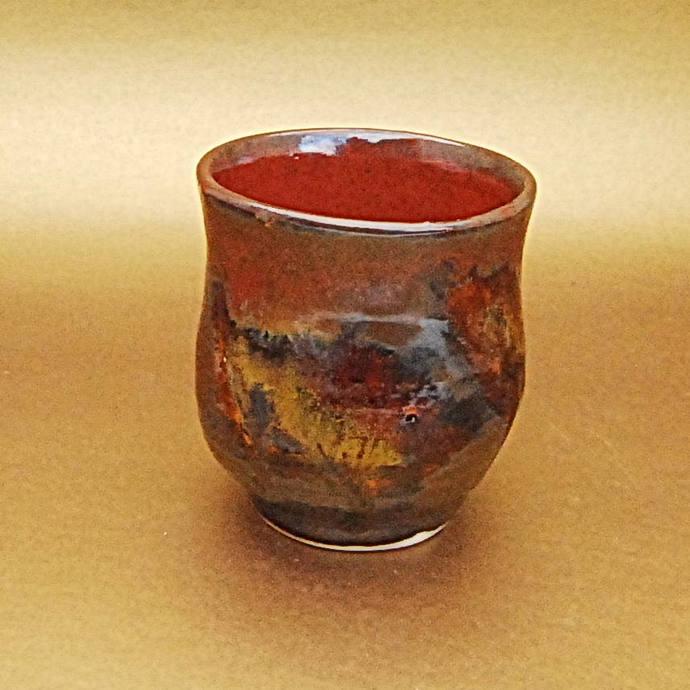 Espresso Cup, Ceramic Wine Cup, Handmade Pottery, Small Handleless Mug,